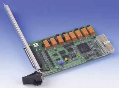 Cartes pour PC industriel CompactPCI, 3U cPCI 8-ch Relay & 8-ch Isolated DI Card