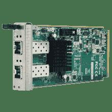Cartes ethernet pour PC industriel CompactPCI, 2-port 10GbE AMC with SFP+ conn.