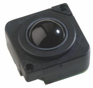 Trackball Trackball en bakélite 25mm noire IP65