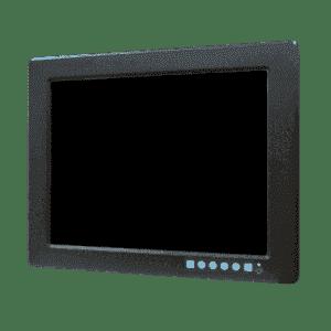 """Ecran industriel tactile 12.1"""" résistif encastrable et VGA"""