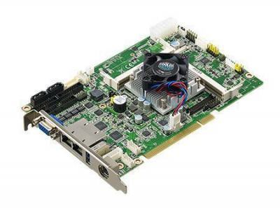 Carte mère industrielle demi-longueur bus PCI/PCIE slot SBC J1900, dual GbE