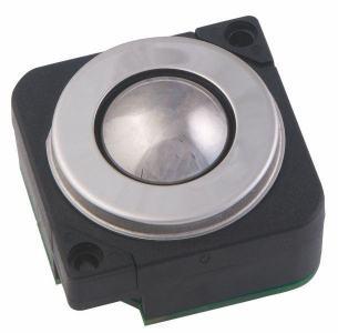 Trackball avec  25mm de diamètre en acier indice de protection IP65