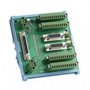 ADAM-3955-AE Bornier ADAM pour carte d'acquisition de données, 2-Axis 50-pin SCSI DIN-rail motion wiring board