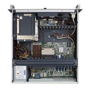 """ACP-4340BP-00XE Châssis silencieux 4U pour PC rack 19"""" PICMG1.0 et 1.3 et 4 disques extractibles"""