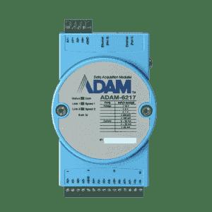 ADAM-6217-AE Module ADAM Entrée/Sortie sur MobusTCP, 8-ch Isolated Analog Input