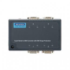 Serveur de périphériques USB, 4-Port RS-232/422/485 to USB Converter w/Surge