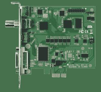Carte industrielle d'acquisition vidéo, 1ch HDMI/DVI/YPbPr/SDI/composite/S-video