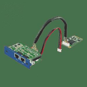 Module iDoor de communication et d'acquisition de données, Intel i350, GbE, PoE IEEE 802.3af, PD, RJ45 x 2