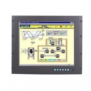 """Moniteur ou écran industriel tactile, 9U 19"""" SXGA Ind. Monitor w/ Resistive TS(Combo)"""