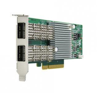 Carte ethernet 2-ports 40G fibre (QSFP+) NIC avec Intel XL710