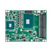 Carte industrielle COM Express Basic pour informatique embarquée, Intel G3900E 2.4GHz 35W 2C COMe Basic non-ECC