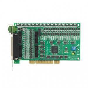 Carte acquisition de données industrielles sur bus PCI, 32ch Iso. DIO w/ 32ch TTL DIO Universal PCI Card