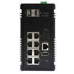 Switch PoE 10Gb 8 ports 1Gb et 2 SFP 10Gb