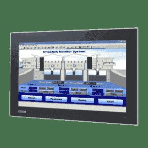 "Ecran tactile industriel 18.5"" capacitif et IP66 en façade"