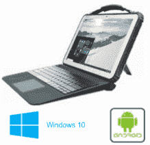 """Tablette durcie 12.2"""" windows ou android"""