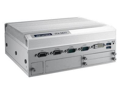 PC industriel fanless pour application transport, ITA-5831,G3902E+8G memory,DC-IN 24V,EN50155