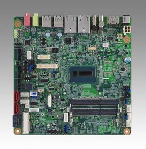 AIMB-231G2-U0A1E Carte mère industrielle, DC miniITX Broadwell-U Celeron 3765U eDP/DP/DP++