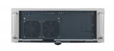 """ACP-4020BP-30ZE Châssis 4U 300W pour PC rack 19"""" PICMG demi longueur profondeur 398mm seulement"""