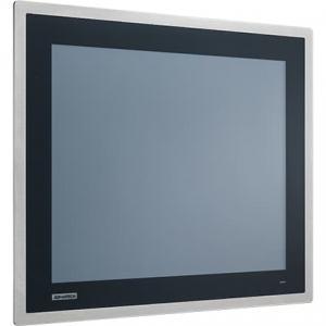 """Ecran 15"""" façade avant inox IP66 tactile résistif VGA+DP -20 ~ 60 °C"""