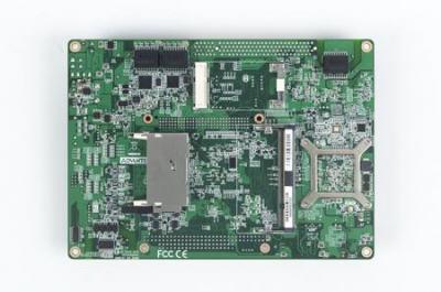 Carte mère industrielle biscuit 5,25 pouces, Intel N450+ICH8M 3GigaLAN/6COM/3SATA/CFII/M-PCIe