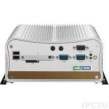 PC Fanless Intel® Atom DualCore D525 1.8GHz (fanless pc) avec 1 slot PCI d'extension et 3 ports Ethernet 10/100/1000