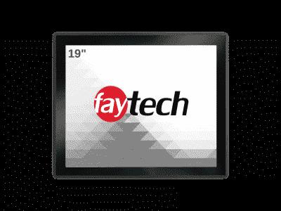 """Panel PC 19"""" basé sur Android 6 - ARM V40, 2Go de RAM, 8 Go de flash, IP65, WiFi"""
