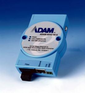Convertisseur ADAM, Ethernet to WDM Fiber-Optic Converter /W15