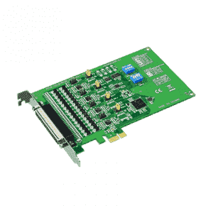 Carte PCIex1 série 4-ports RS-232/422/485 surtension 1000V&Isolation 3000V