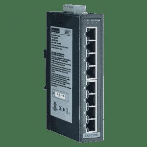 Switch Rail DIN industriel 8 ports non managés température étendue -40°C à +75°C