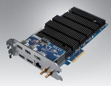 Carte d'encodage vidéo 2 channel HDMI / SDI 1 slot