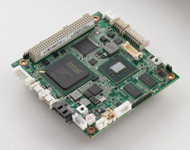 Carte industrielle PC104, PCI-104 SBC N455 1.6G,LVDS,GbE,1GB DDR3 onboard