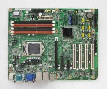 Carte mère industrielle, LGA1155 ATX IMB w/VGA/DVI/PCIe/2GbE/2 SATAIII
