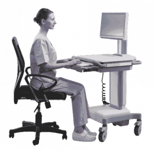 AMIS-50-PC7-D0-AE Chariot pour application médicale, AMIS-50 Box PC Core i7 w/o Fan