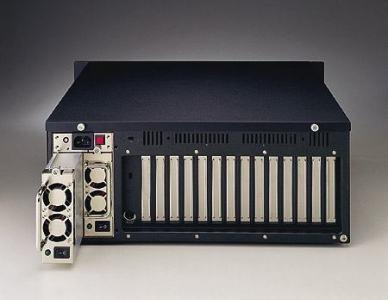 """Châssis silencieux 4U pour PC rack 19"""" industriel PICMG1.0 et 1.3"""