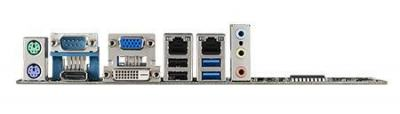 Carte mère industrielle, MicroATX with VGA/DVI 2COM/9 USB/single LAN