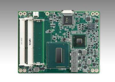 Carte industrielle COM Express Basic pour informatique embarquée, SOM-5894C5-S6A1E w/Phoenix Platinum -40~85C