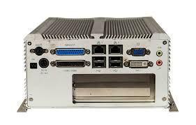 PC Fanless Intel® Core 2 Duo/Celeron® avec 1 slot PCI + 1 slot PCIex1