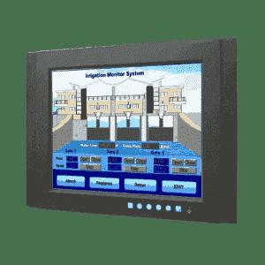 """Ecran industriel tactile 15""""Resistif VGA Température -20 ~ 60 °C"""