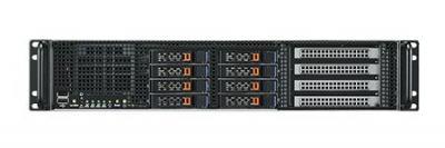 AGS-923I-R14A1E Serveur à grande capacité de calcul graphique, 2U Xeon HPC chassis w/1400W RPS w/MB/4 GbE/IPMI
