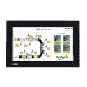 "Ecran tactile industriel 15.6"" capacitif et IP66 en façade"