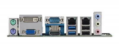 Carte mère industrielle, miniITX LGA1150.VGA/DP/DVI/LVDS/PCIe/2GbE