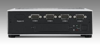 ARK-6322-Q0A1E PC industriel fanless, Intel Celeron J1900 QC with 6 COM and 8 USB