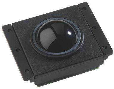 Trackball En bakélite 38mm de diamètre Trackball couleur noire Etanchéité: IP65