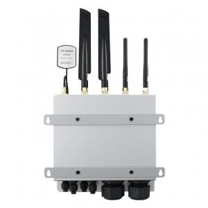 UNO-430-E1A Passerelle Edge IP69K/IP68 compatible WiFI, 4G et 5G, 2 x LAN, 3 x COM, -40 ~ 70 °C