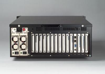 """ACP-4320MB-00BE Châssis silencieux 4U pour PC rack 19"""" avec carte mère ATX/MATX et 2 disques extractibles"""
