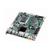 MB mini ITX socket LGA 1151 Intel core I7,I5,I3 2 RJ45