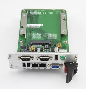 Cartes pour PC industriel CompactPCI, MIC-3325 with D525 CPU 2G RAM XTM dual slot