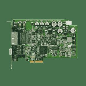 Carte ethernet 2 ports Gigabit POE pour application de vision frame grabber