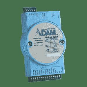 Module ADAM Entrée/Sortie sur MobusTCP, 4-ch Isolated Analog Output