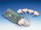 Carte ports ISA de communication série, 4-port RS-232 protection surtension et DB9